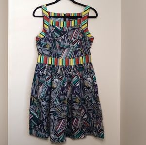 Duro Olowu Abstract Dress Size 10